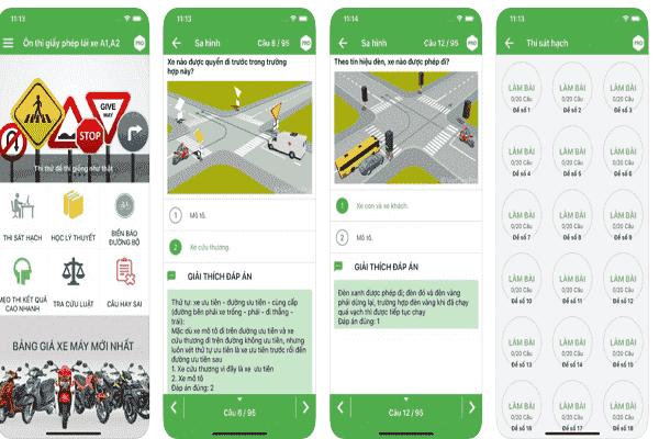 Phần mềm học lái xe qua iphone