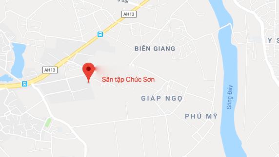 Sân tập Chúc Sơn